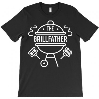 The Grillfather Funny Book Tshirt T-shirt Designed By Hung