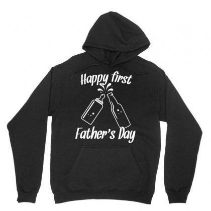 Happy First Fathers Day Tshirt Unisex Hoodie Designed By Hung