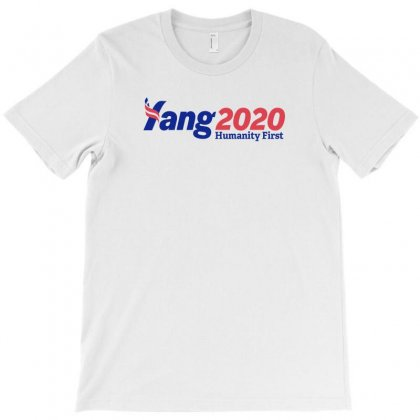 Yang For President T-shirt Designed By Willo