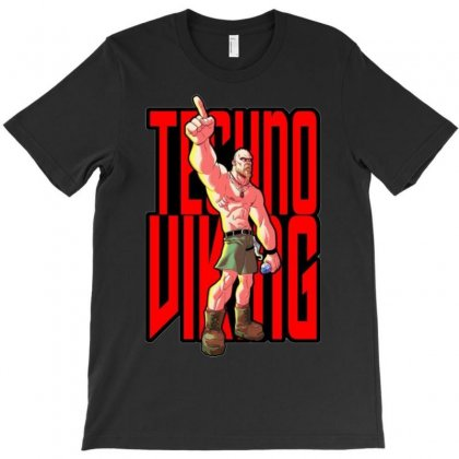 Techno Viking Ideal Birthday Present Or Gift T-shirt Designed By H4syim