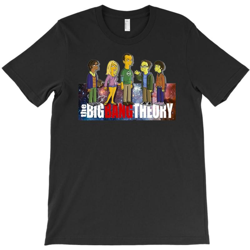 The Big Bang Theory Simpsons, Ideal Gift Or Birthday Present Funny T-shirt | Artistshot