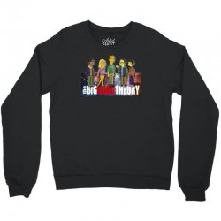 the big bang theory simpsons, ideal gift or birthday present funny Crewneck Sweatshirt | Artistshot