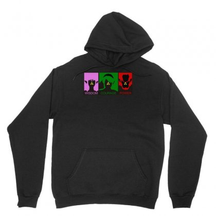 Triforce Legend Of Zelda, Ideal Gift Or Birthday Present. Unisex Hoodie Designed By H4syim