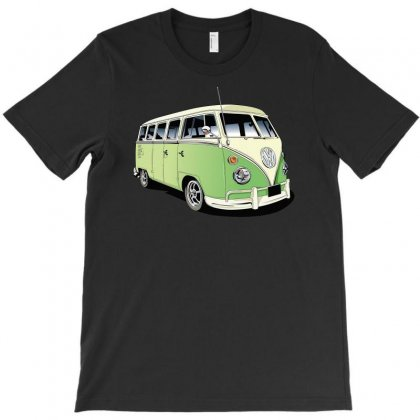 Vw Camper Van, Ideal Gift Or Birthday Present T-shirt Designed By H4syim