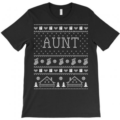 Aunt Ugly Christmas Sweater Xmas Tshirt T-shirt Designed By Hung