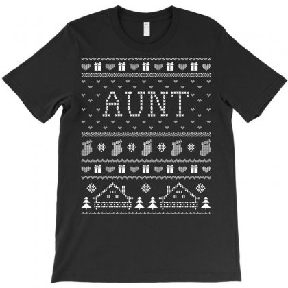 Aunt Ugly Christmas Sweater Tshirt T-shirt Designed By Hung