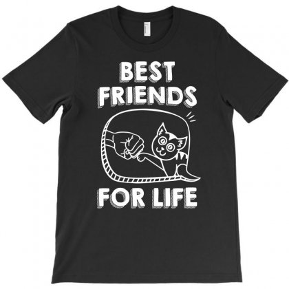 Cat Best Friends For Life Tshirt T-shirt Designed By Hung