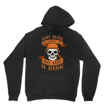 Agent Orange The Friendly Free That Kepps On Burning Tshirt Unisex Hoodie Designed By Hung