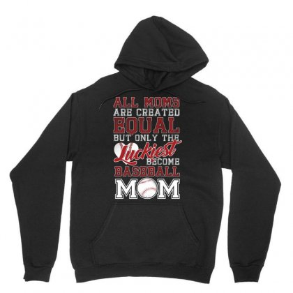 Only The Luckiest Become Baseball Mom Tshirt Unisex Hoodie Designed By Hung