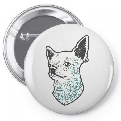 Chihuahua Pin-back Button Designed By Tiococacola