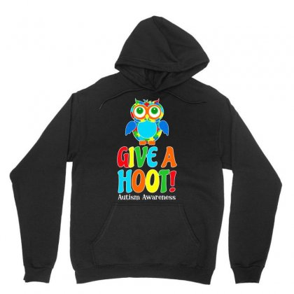 Autism Owl Give A Hoot Awareness T Shirt Unisex Hoodie Designed By Hung