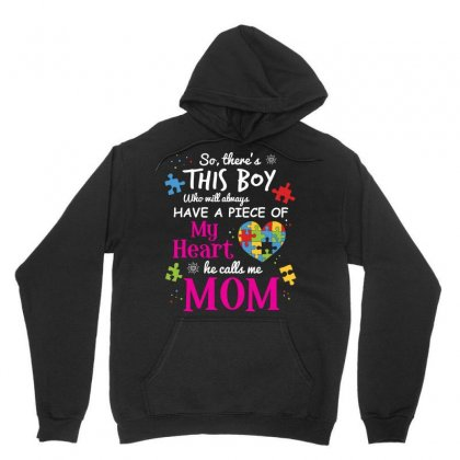 Autism Mom Have Piece Of My Heart Awareness T Shirt Unisex Hoodie Designed By Hung