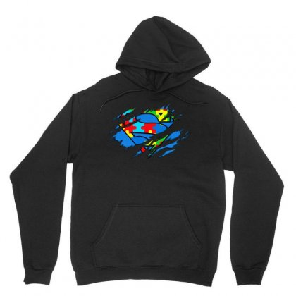Autism Awareness Day Gifts Super Autism T Shirt Color Unisex Hoodie Designed By Hung