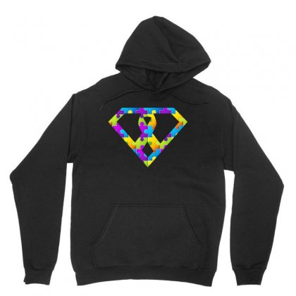 Autism Awareness Autism Logo Super Tshirt Unisex Hoodie Designed By Hung