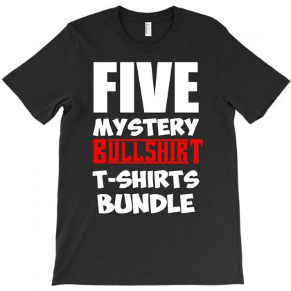 5 Mystery Bundle Funny Offensive Multibuy T-shirt Designed By H4syim