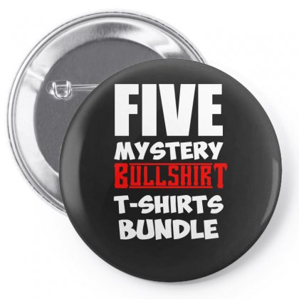 5 Mystery Bundle Funny Offensive Multibuy Pin-back Button Designed By H4syim