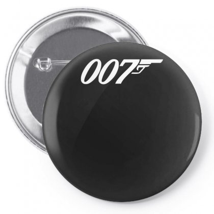 007 James Bond Sticker Vinyl Decal Gun Wall Car Window Truck Bumper Au Pin-back Button Designed By H4syim