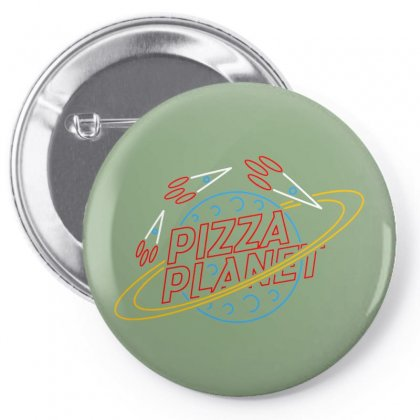 Pizza Planet Toys Merch Pin-back Button Designed By Devanojohnsantos