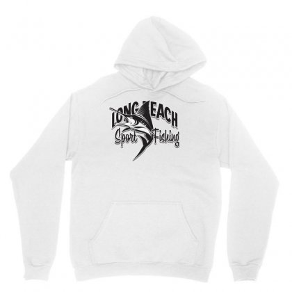 Long Beach Sport Fishing Unisex Hoodie Designed By Tiococacola