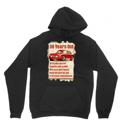 30 Year Old Aston Martin Funny Quote Ideal Birthday Gift Unisex Hoodie Designed By H4syim