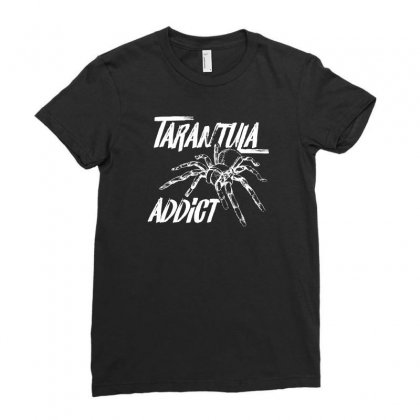 Tarantula Addict Funny Tshirt Ladies Fitted T-shirt Designed By Hung