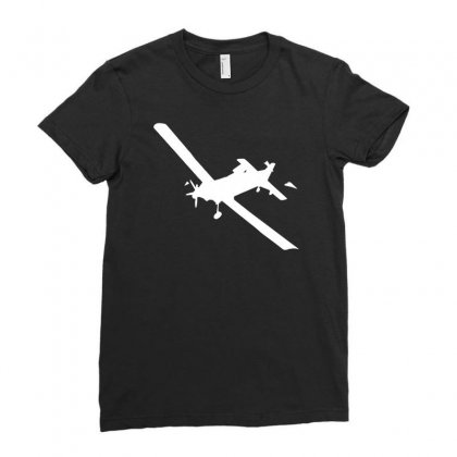 802 At Air Tractor Air Attack Fire Bomber Vinyl Decal Cal Fire Airplan Ladies Fitted T-shirt Designed By H4syim