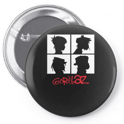 2015 New 100 Quality Gorillaz T Shirt O Neck Popular Chakakhan Tshirt Pin-back Button Designed By H4syim