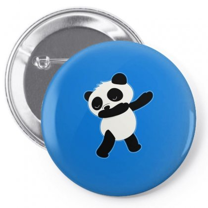 Panda Dabbing Funny Tshirt Pin-back Button Designed By Hung