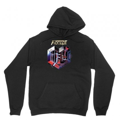 Accept Metal Heart Unisex Hoodie Designed By H4syim