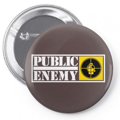 Public Enemy Pin-back Button Designed By Devanojohnsantos