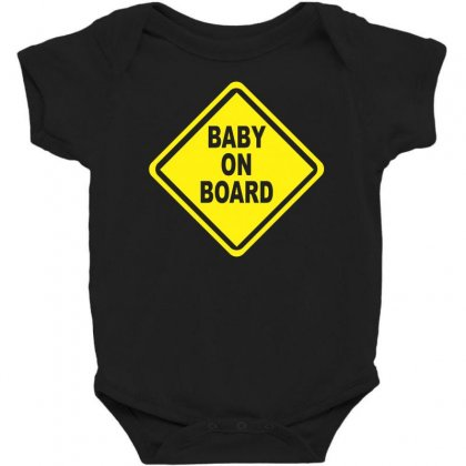 Baby On Board Bumper Sticker Decal Safety Cute Funny Baby Bodysuit