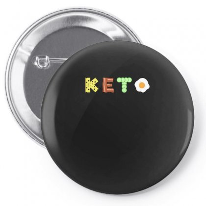 Keto Low Carb Diet Tshirt Pin-back Button Designed By Hung