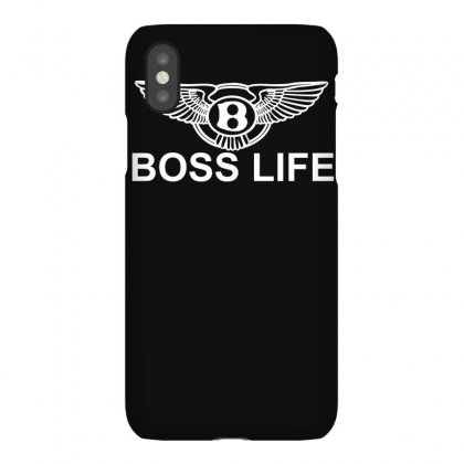 Boss Life Hip Hop Music Rick Ross Maybach Cool Dope Mens Tshirt Black Iphonex Case Designed By H4syim