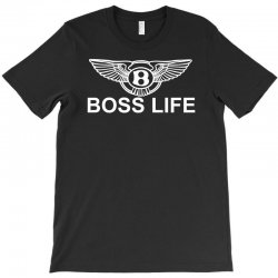 boss life hip hop music rick ross maybach cool dope mens tshirt black T-Shirt | Artistshot