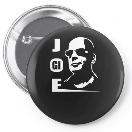 Bruce  Willis G.i Pin-back Button Designed By H4syim