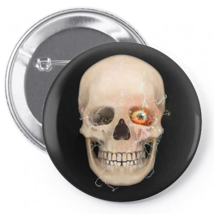 Skull Scifi Pin-back Button Designed By Tapan
