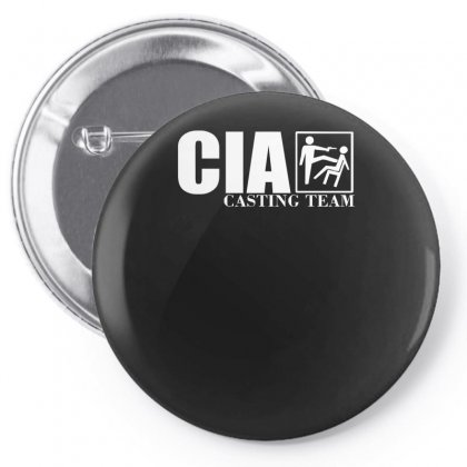 Cia Casting Team Funny Pin-back Button Designed By H4syim
