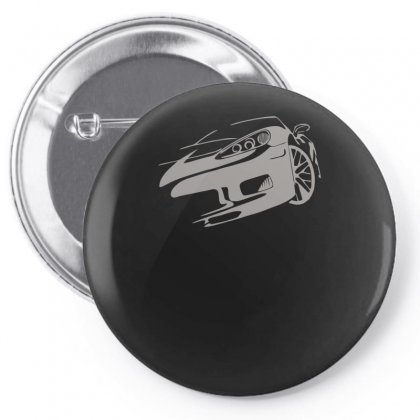 Corvette C6 Racing Race Gt Endurance Master Car Auto Usa Muscle Pin-back Button Designed By H4syim