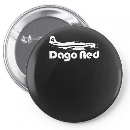 Dago Red P 51 Mustang Race 4 Reno Air Racer Decal Merlin Air Racing Pin-back Button Designed By H4syim