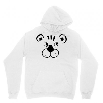 T Shirt Design (tiger Face) Unisex Hoodie Designed By Shifatctg94