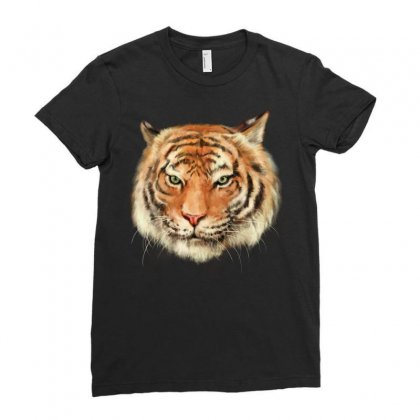 Royal Bengal Tiger Ladies Fitted T-shirt Designed By Tapan