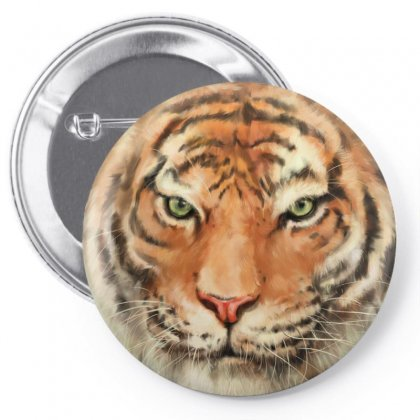 Royal Bengal Tiger Pin-back Button Designed By Tapan