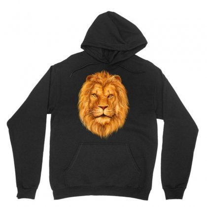 King Lion Unisex Hoodie Designed By Tapan