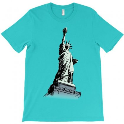 Statue Of Liberty T-shirt Designed By Tapan