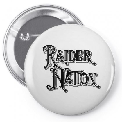 Raider Nation License Plate Pin-back Button Designed By Tiococacola