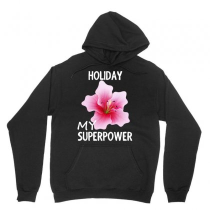 Rose Flower My Superpower Design Shirt Unisex Hoodie Designed By Cogentprint