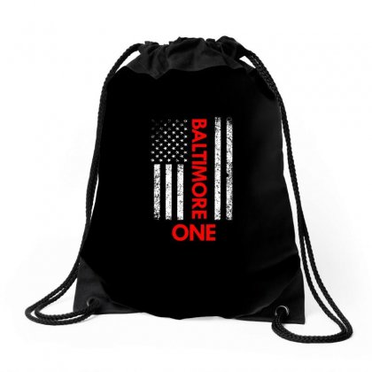 Baltimore City Usa  Shirt Drawstring Bags Designed By Cogentprint