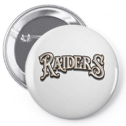 Raiders Baseball Cap Pin-back Button Designed By Tiococacola