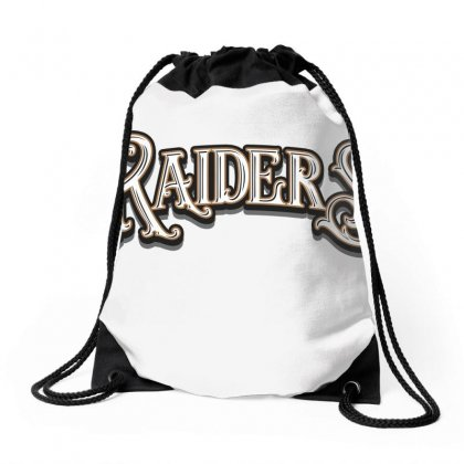 Raiders Baseball Cap Drawstring Bags Designed By Tiococacola