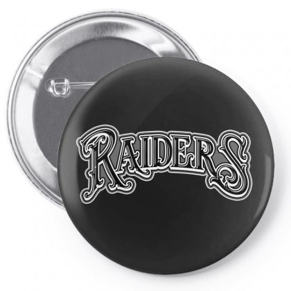 Raiders License Plate Pin-back Button Designed By Tiococacola